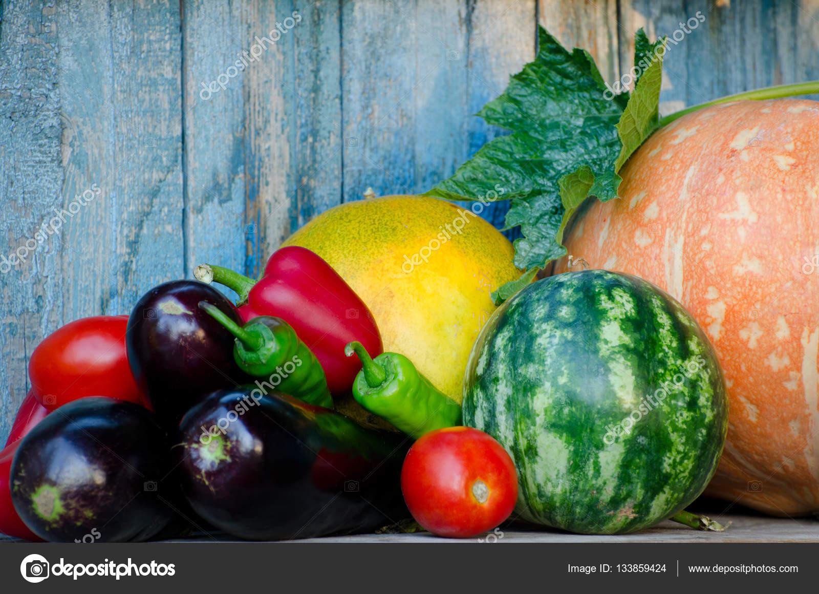 Натюрморт из овощей. Натюрморт из осенних овощей: дыня ...
