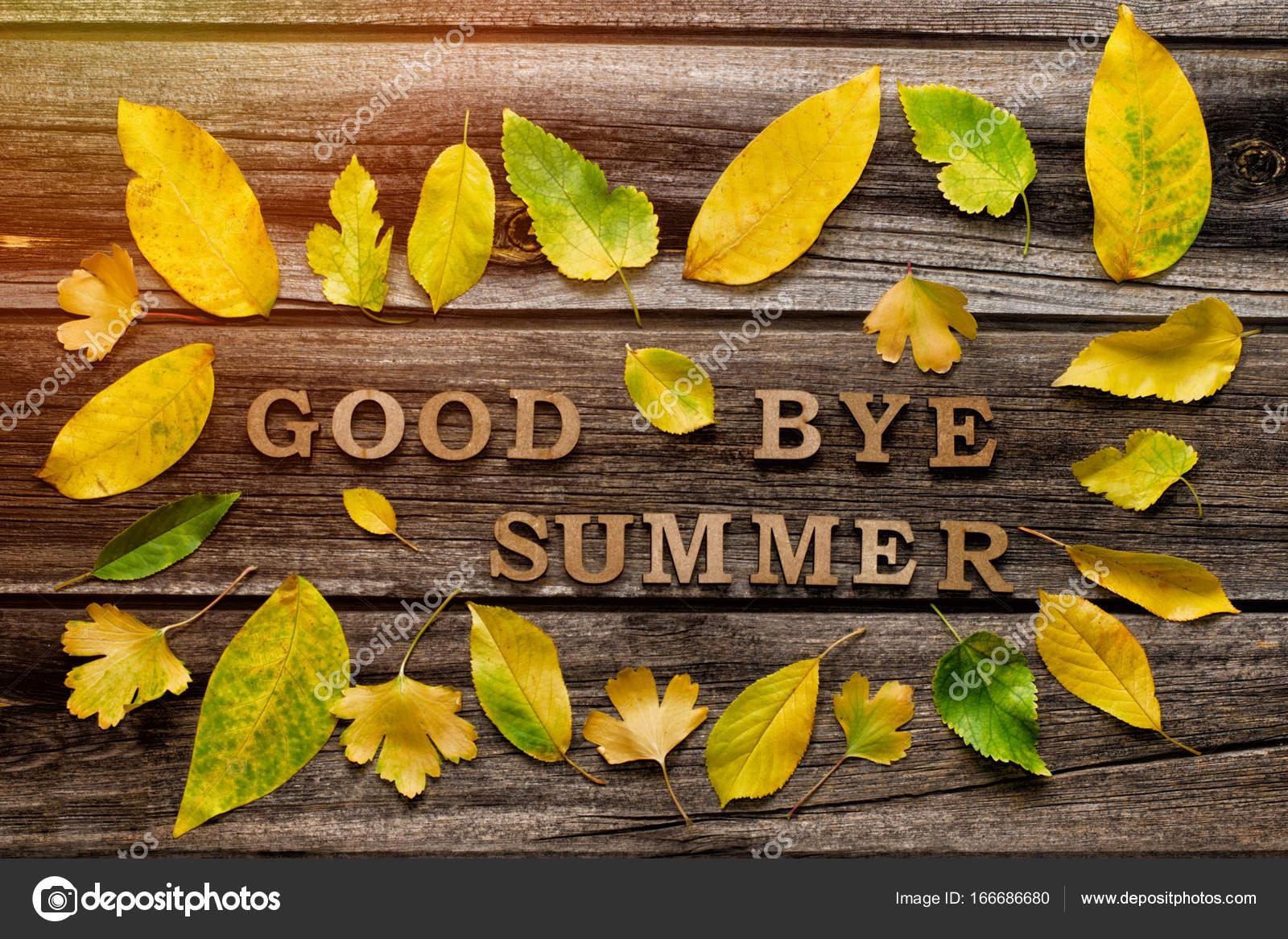 фото досвидание лето