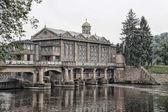 Budova historické vodní elektrárny