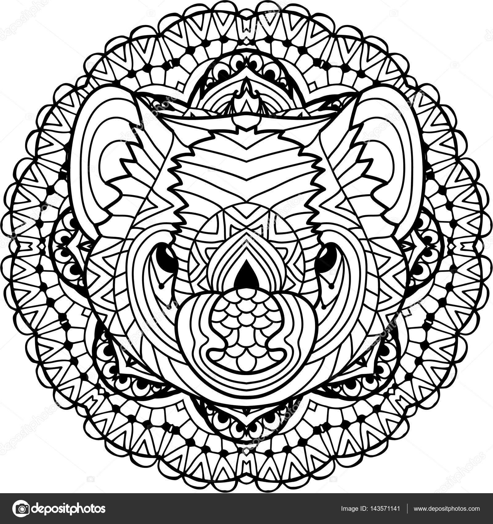 Uniek Mandala Kleurplaten Voor Volwassenen Dieren