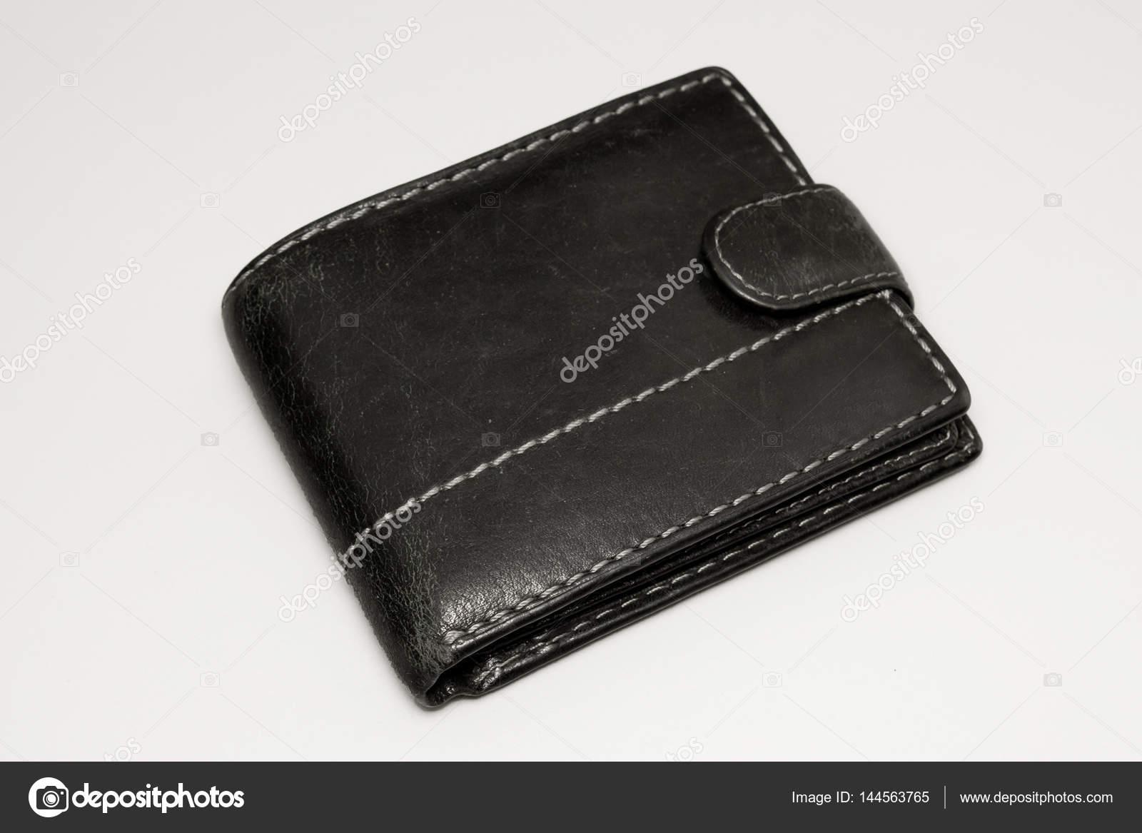 659026955d31 ancien portefeuille sur fond blanc — Photographie kirilllutz ...