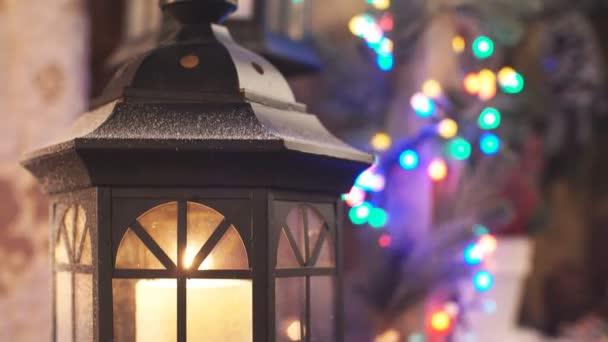 Vánoční ozdoby. Téma Vánoce a šťastný nový rok
