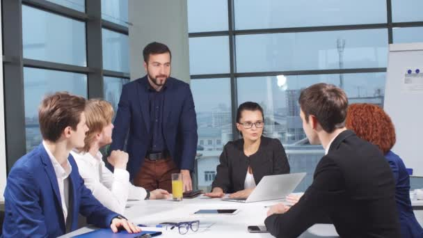 Business people meeting in office.