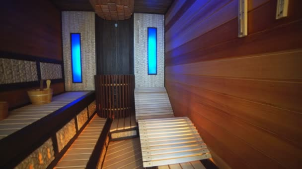 Luxury Apartment Interior, Sauna.