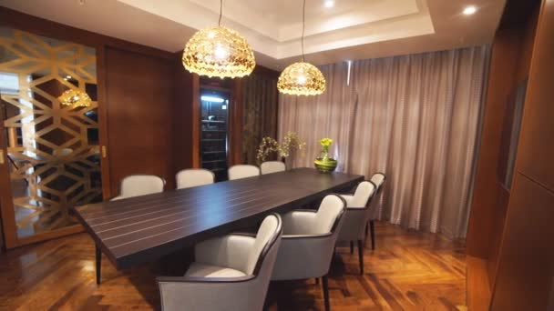 Luxusní byt interiér sledování snímku
