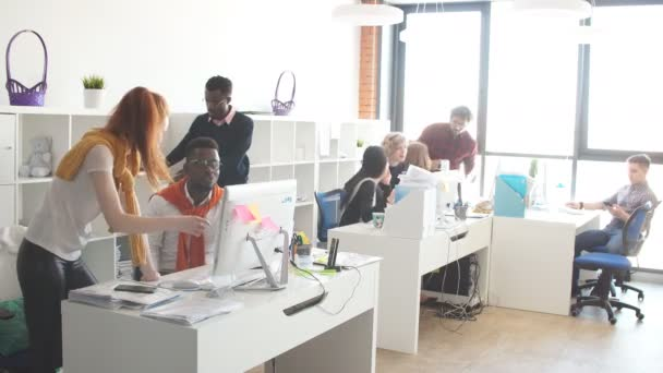 Multi Racial Business People Are Working Out Startup Project.