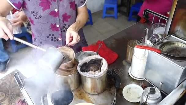 Kaffeestrümpfe in Ho-Chi-Minh-Stadt, Vietnam