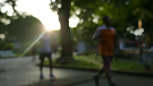 Out of focus with sun ray