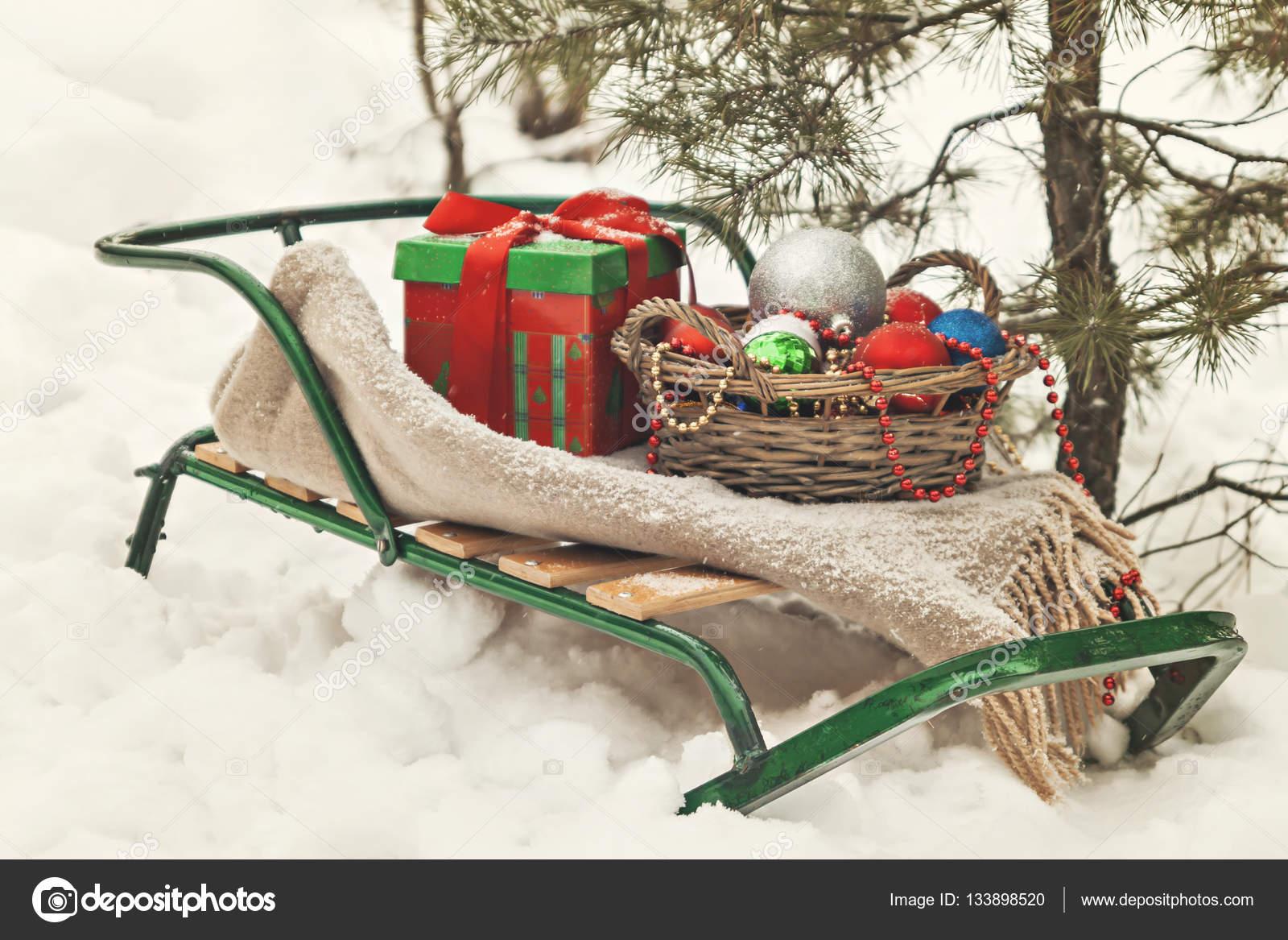 Blanket gift boxes christmas