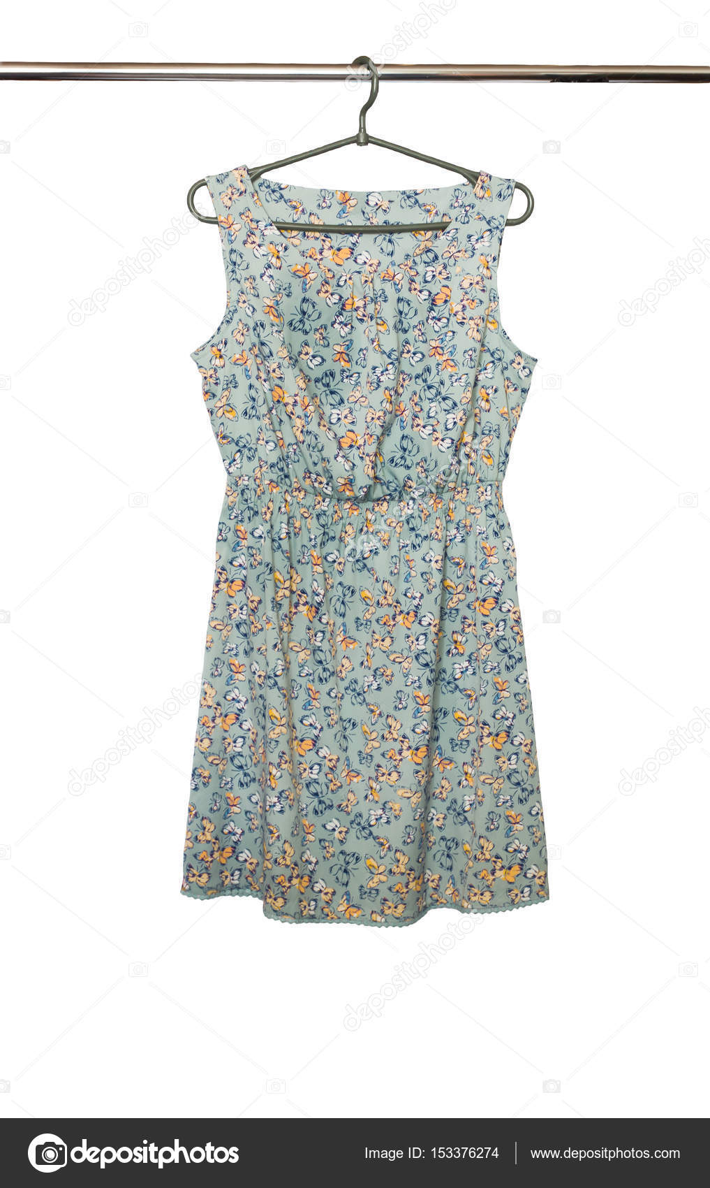 Módní letní krátké šaty s květinovým vzorem bez rukávů 7fd311fbdc