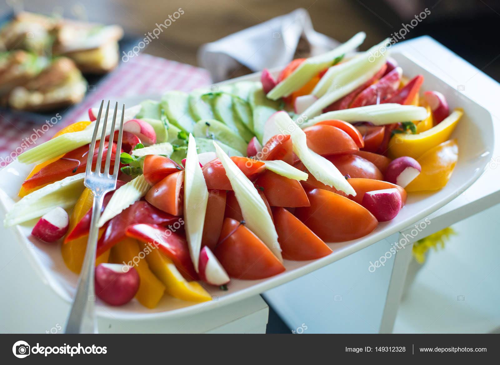 Brunch W Drogiej Restauracji Zdrowe Jedzenie Plyta Z Tawia On