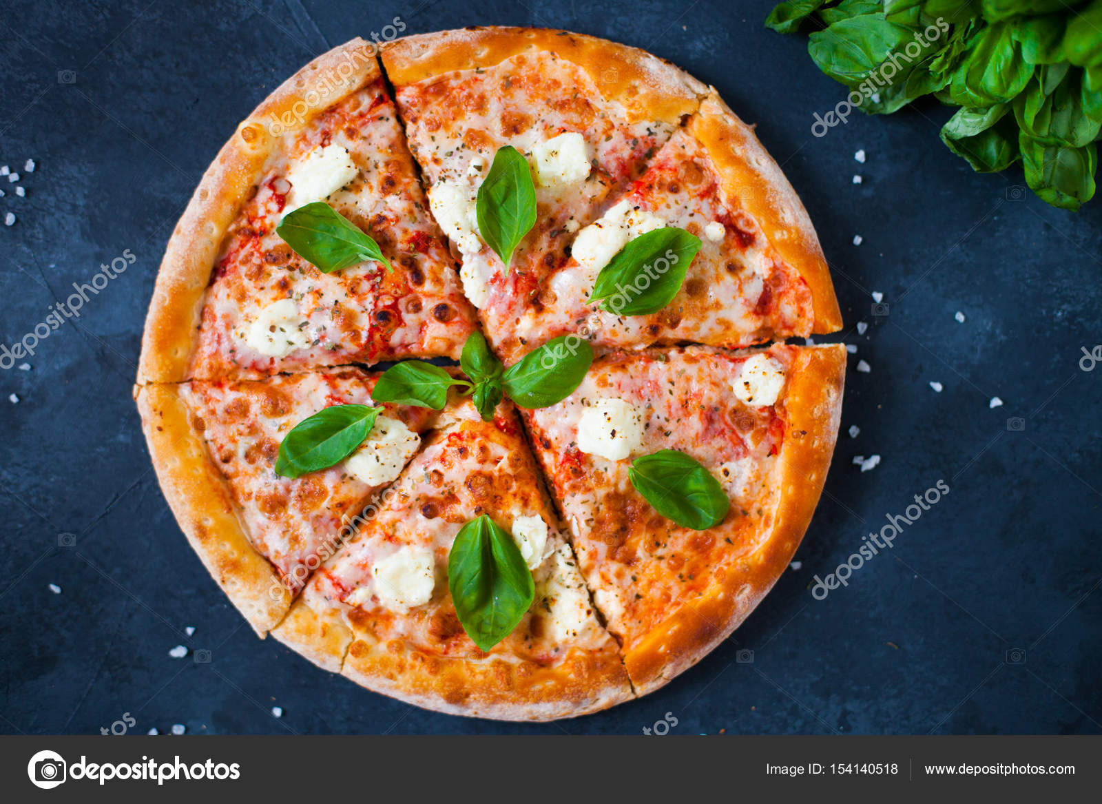 homemade pizza with tomato sauce olives fresh mozzarella pa