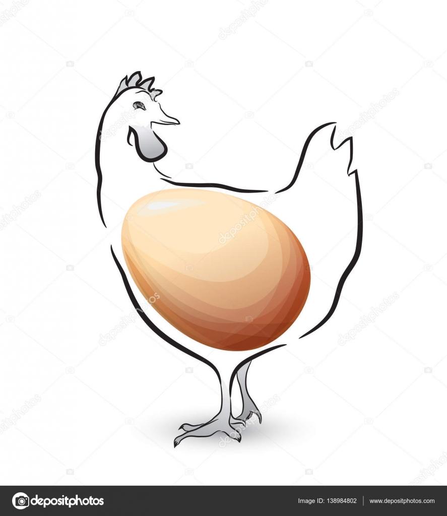 Mejor diseño de huevo de pollo — Vector de stock © IraDvilyuk #138984802