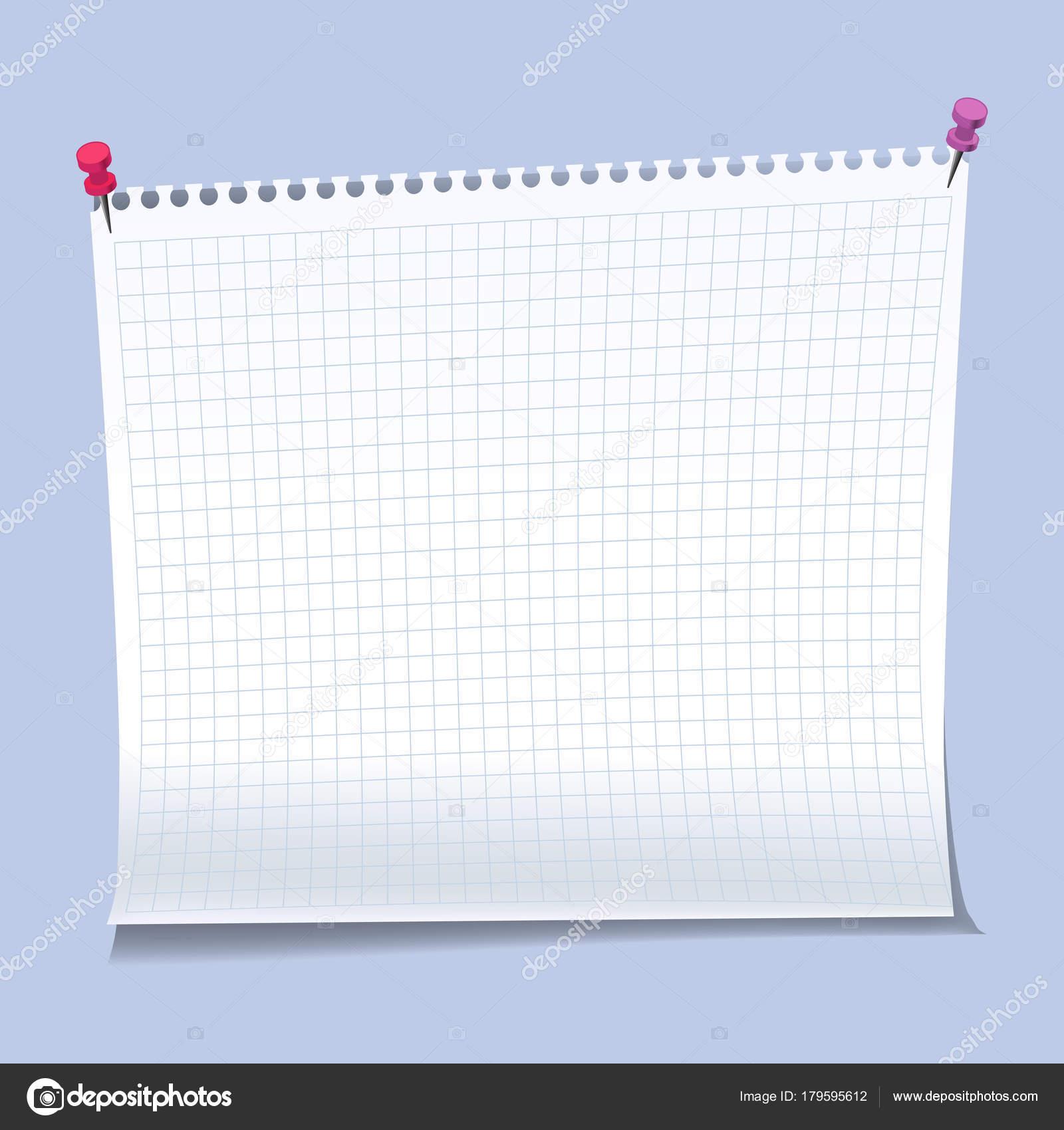 Realistische Haftnotizen Papier Blätter Vorlagen, Mahnungen ...