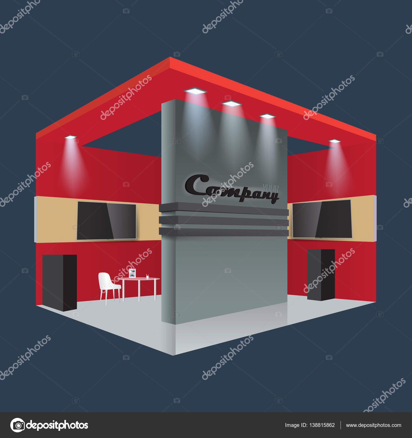 Exhibition Stand Design Illustrator : Kreative messestand design stand vorlage