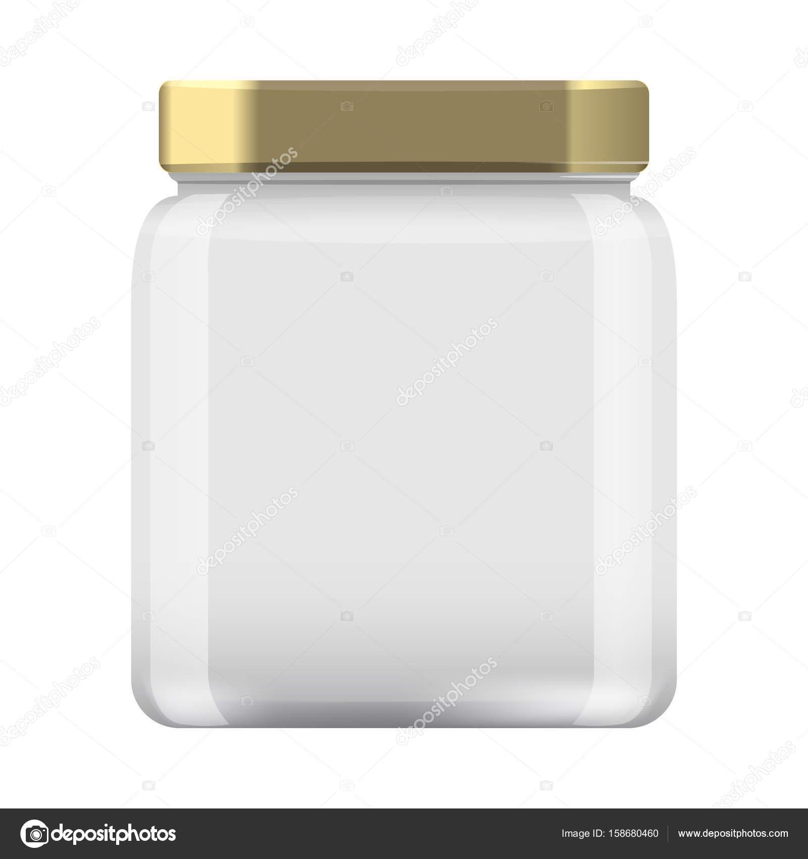 Tarro de cristal para conservas y conservación. Frasco vacío ...