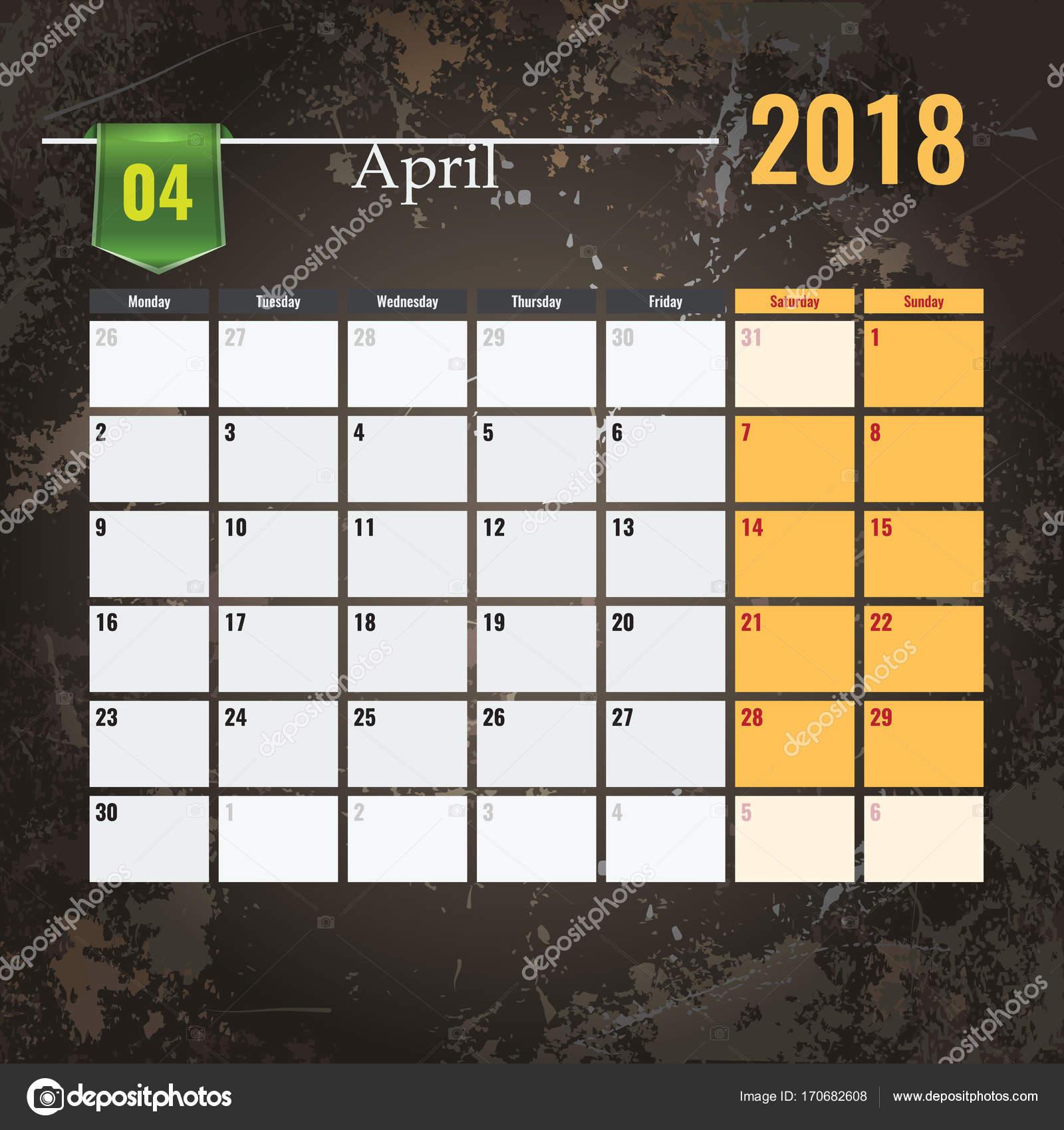 Gemütlich Monatliche Planung Kalendervorlage Zeitgenössisch - Entry ...