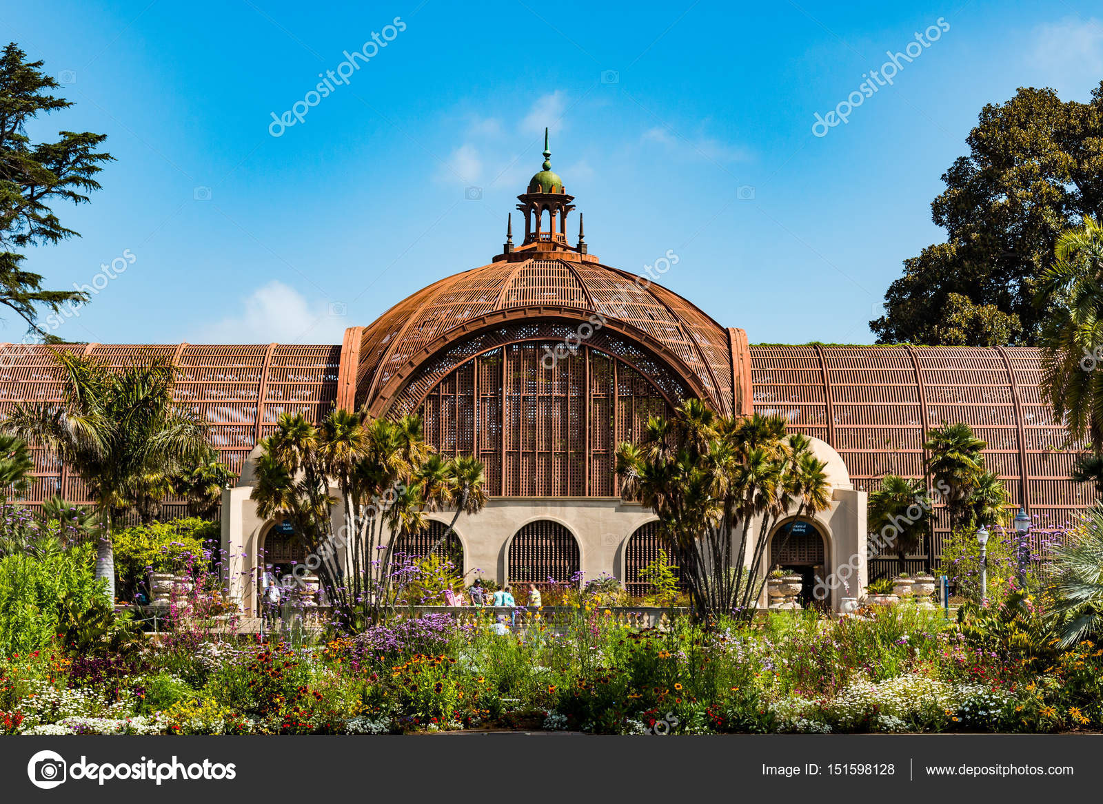 Landmark Botanical Garden in Balboa Park – Stock Editorial Photo ...