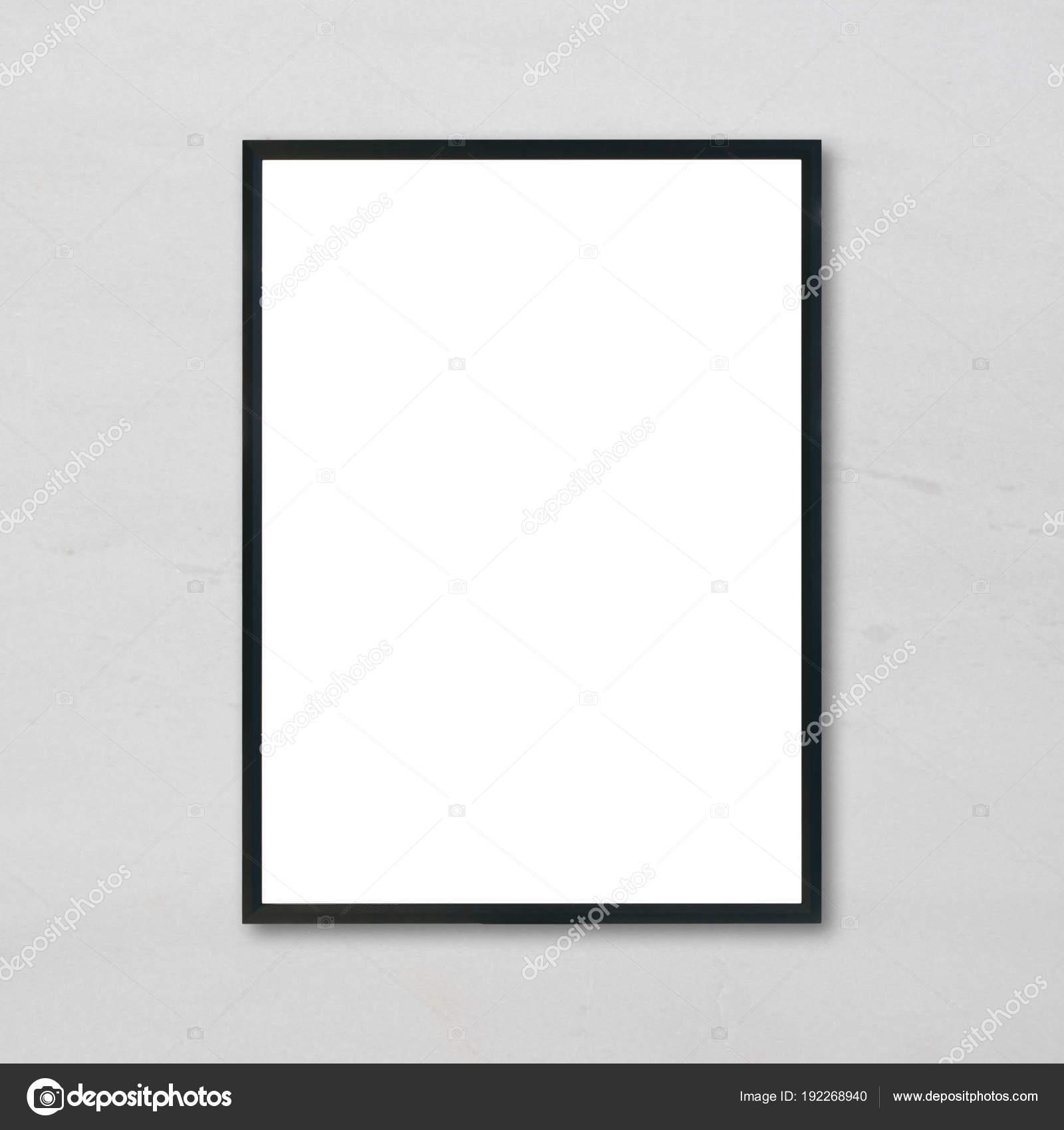 Mock Up Leere Plakat Bilderrahmen Hängen Weiße Marmor Wand Hintergrund Im  Zimmer Können   Gebrauchte