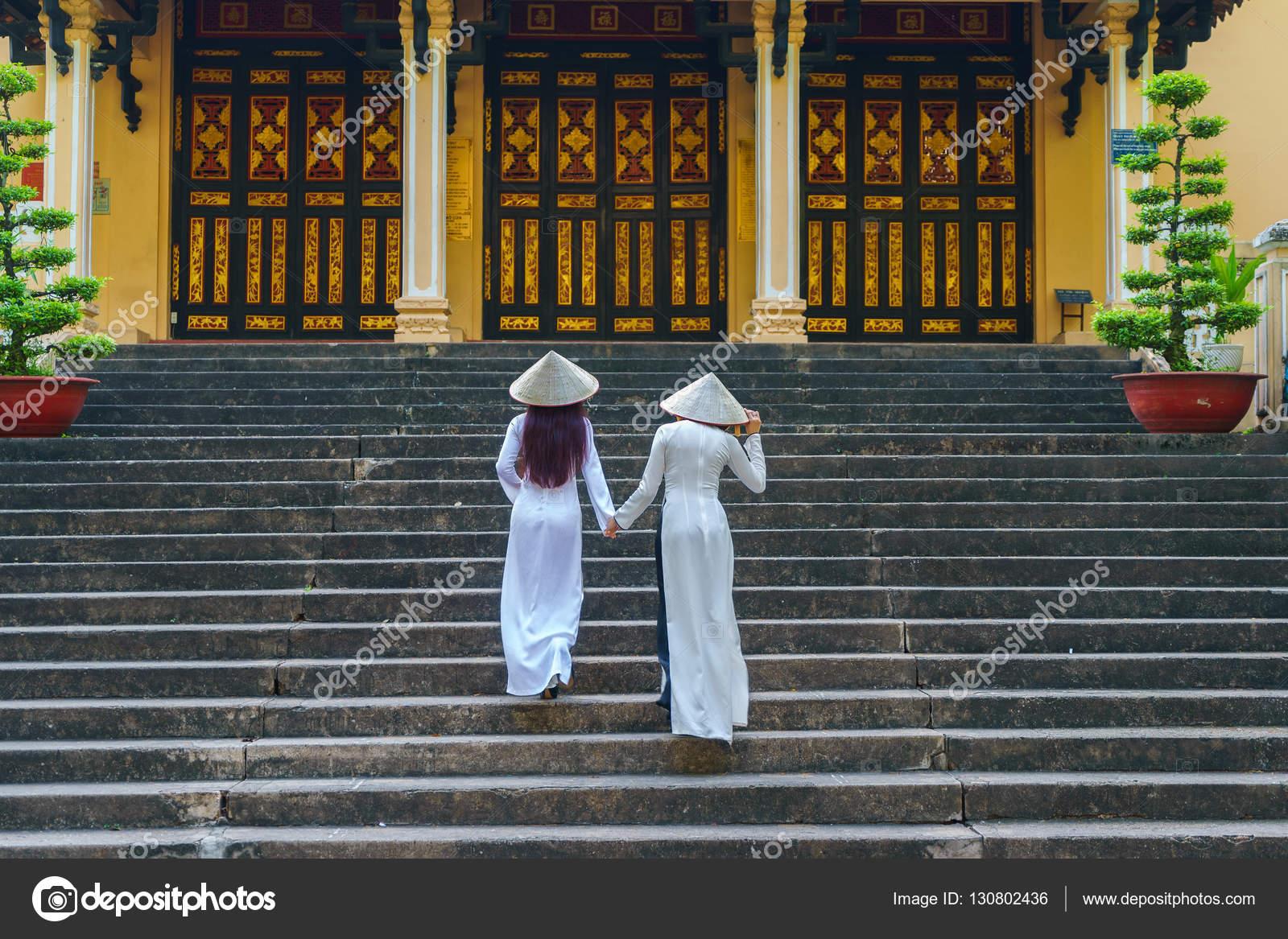 Mädchen Ho Chi Minh