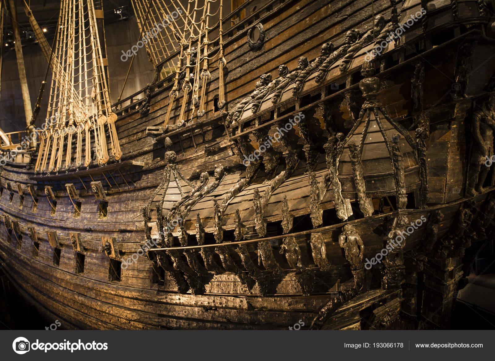 Naval ship Vasa — Stock Photo © tenedos #193066178