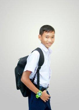 male elementary school student .