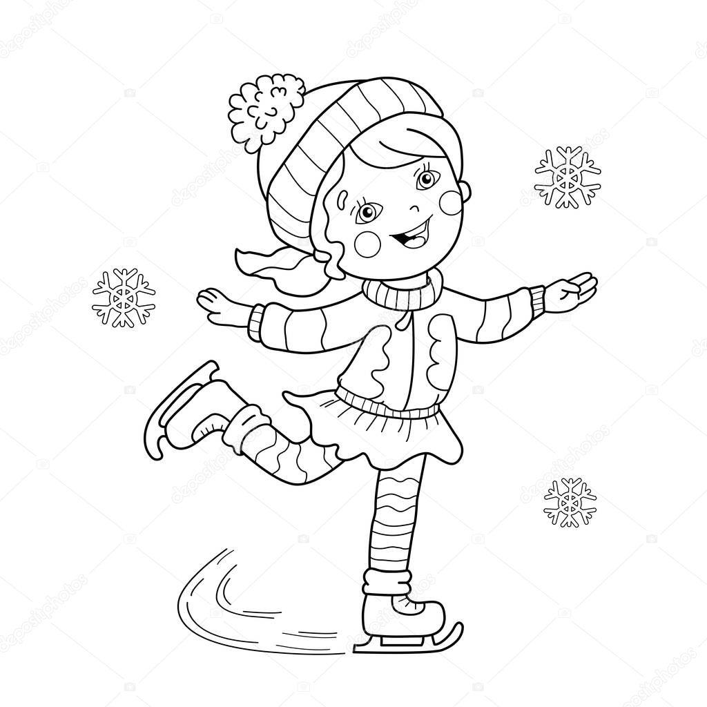 kolorowanki strona konspektu z kresk243wki dziewczyna na