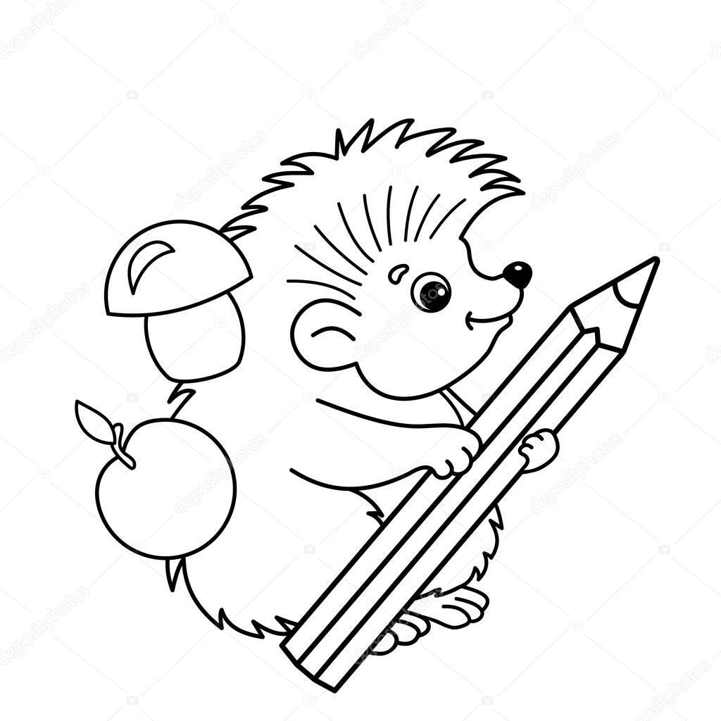 Disegni da colorare pagina muta di istrice del fumetto con - Bambino samuel pagina da colorare ...