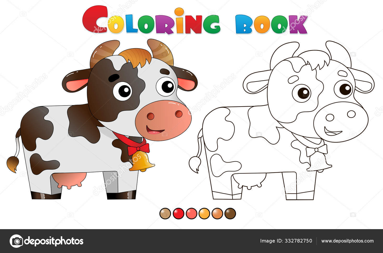 Farm Animals coloring page for kids, animal coloring pages ... | 1060x1600