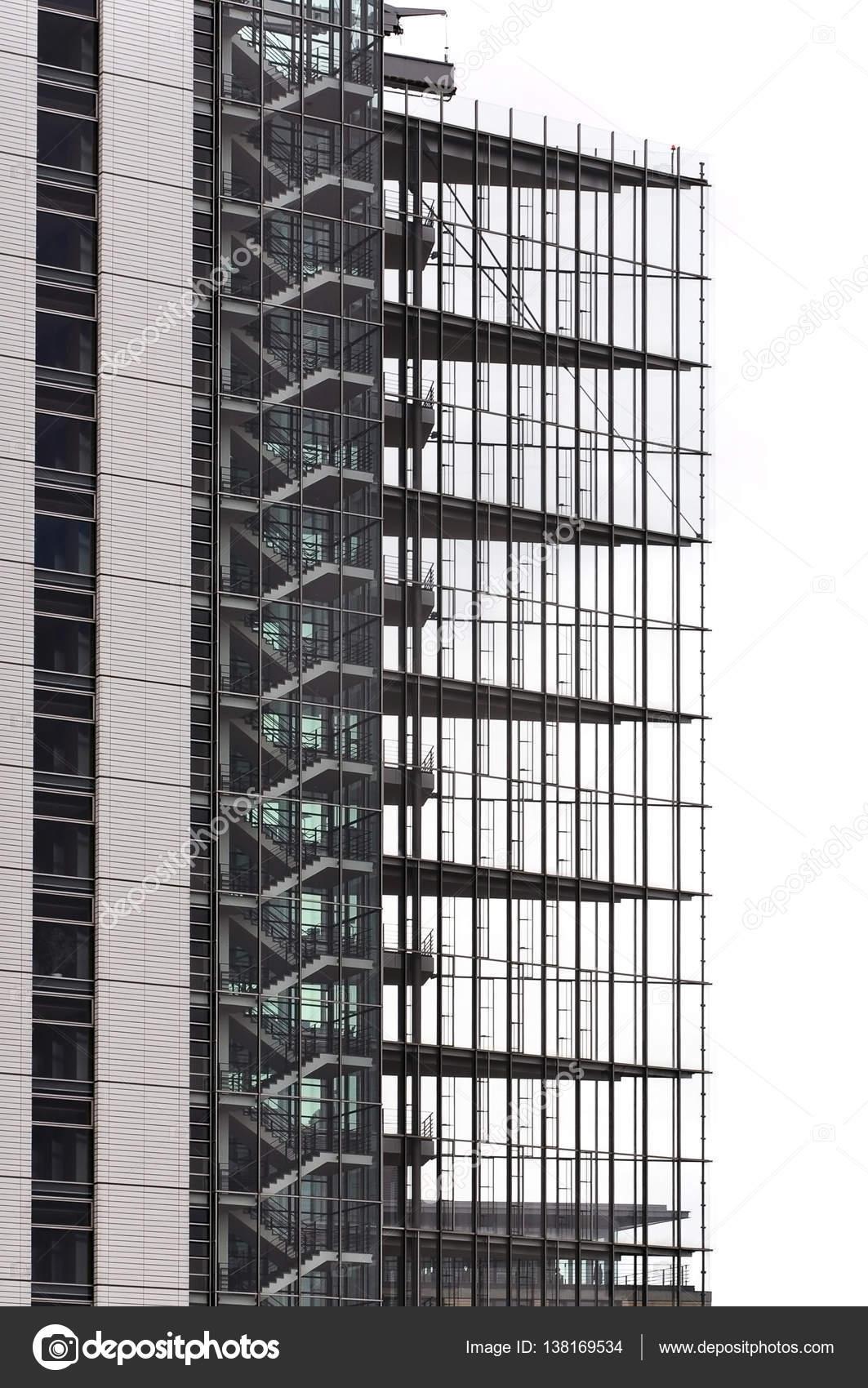 Modernes Gebäude in Stuttgart Glas — Redaktionelles Stockfoto ...
