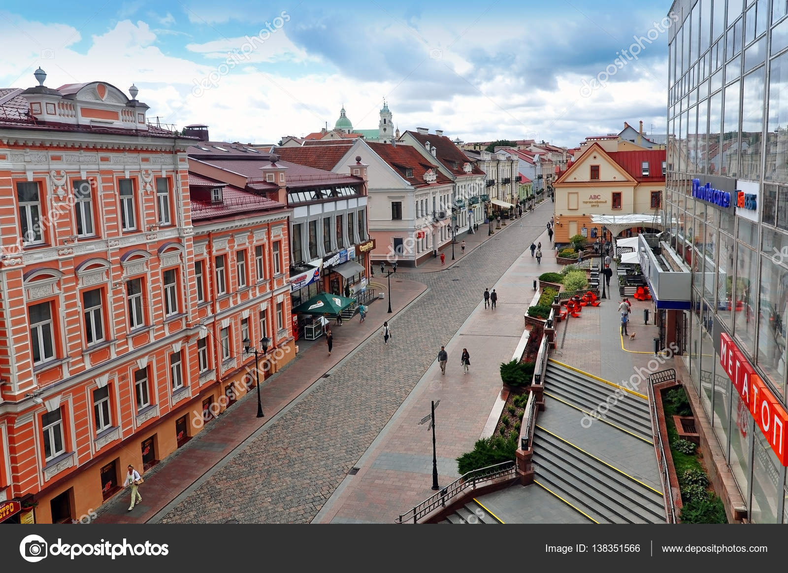 Panorama of Grodno, Belarus – Stock Editorial Photo ...