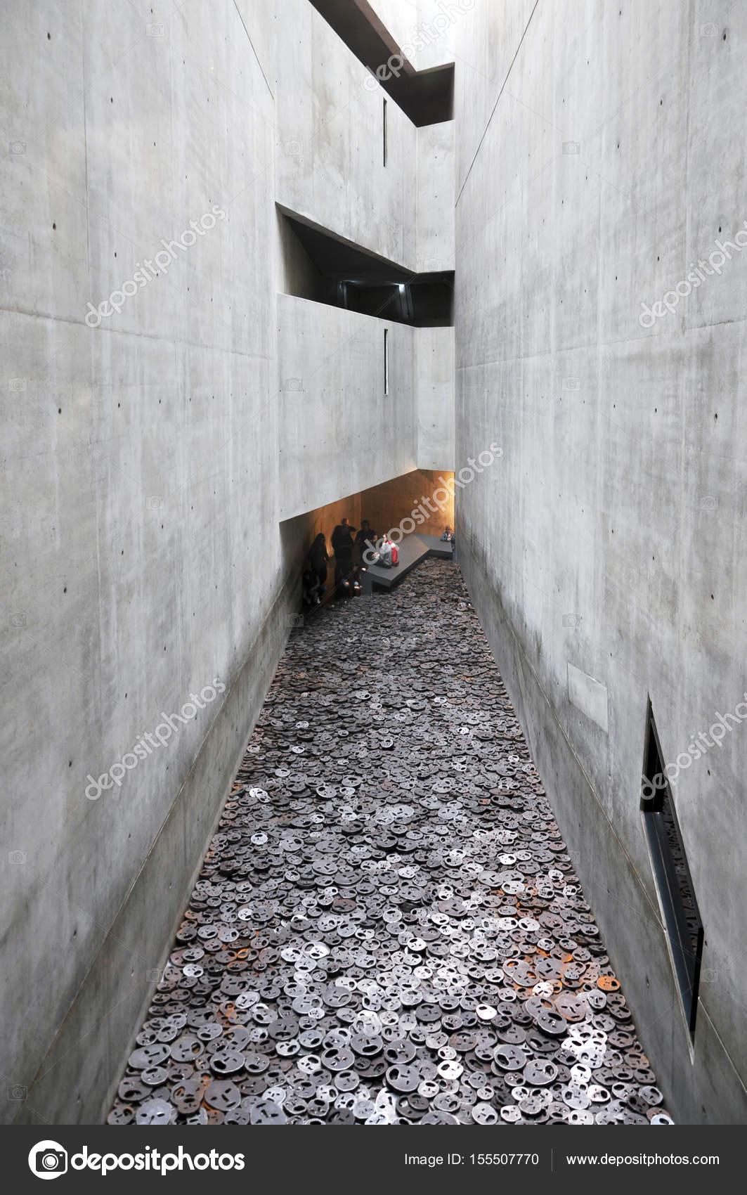Interieur der jüdischen Museums in Berlin — Redaktionelles Stockfoto ...