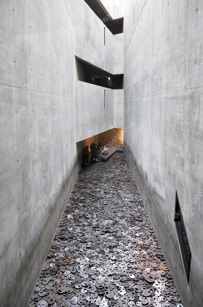 joodse museum interieur in berlijn – redactionele stockfoto