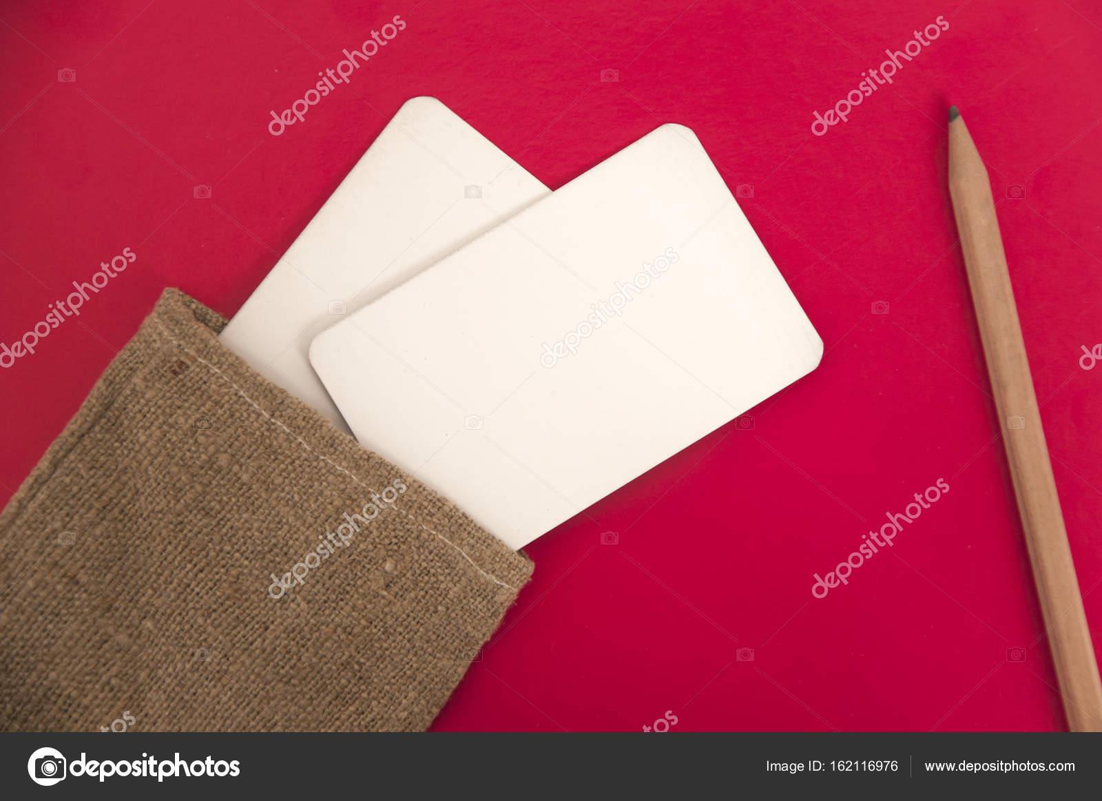 e7981606ff7e4 Mock up de tarjetas de visita — Fotos de Stock © struvictory  162116976