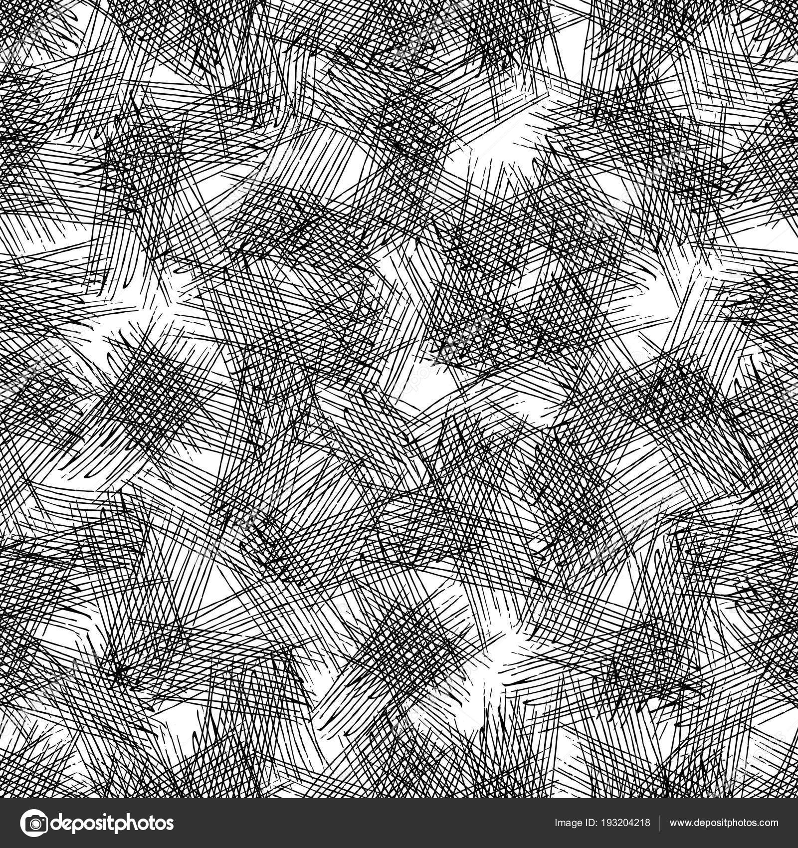 Vector Seamless Grunge Texture Intersecting Lines — Stock