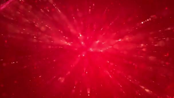 Veselé Vánoce červená abstraktní pozadí