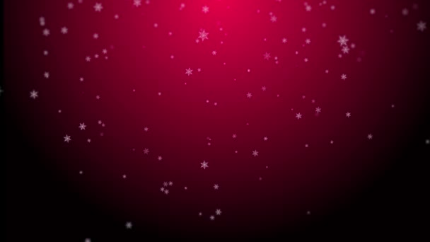 Winter holidays Christmas and New year snowflakes falling