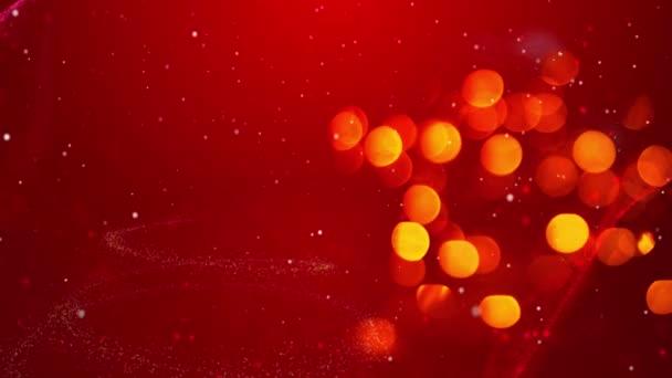 Veselé vánoční strom světla zimní pozadí