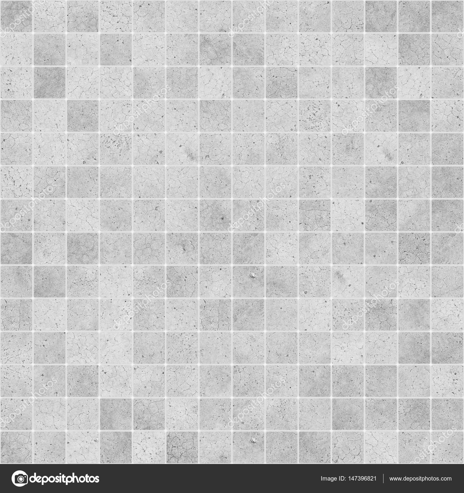 Concrete Mosaic Tile Seamless Texture Stock Photo