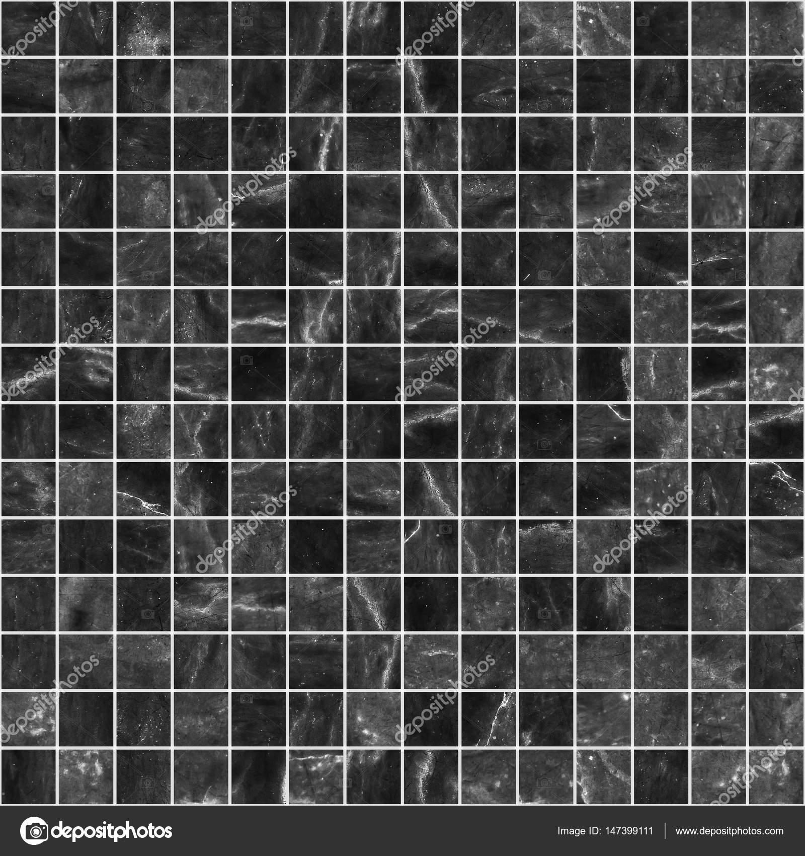 Black Mosaic Marble Tile Texture Seamless Stock Photo C Chingraph 147399111