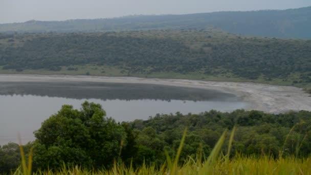 Jezero Nyamanyuka v Ugandě