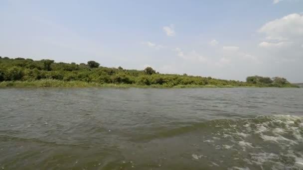 Kazinga Channel in Uganda