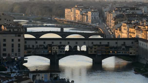Arno River and Ponte Vecchio in Florence