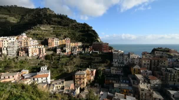 Manarola city in Italy