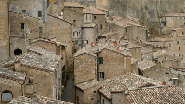 Beautiful medieval town in Tuscany