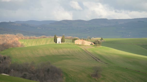 Landschaft in der Toskana in Italien