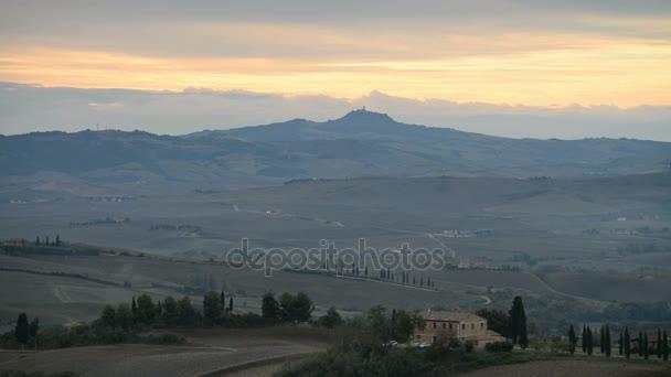krajinu San Quirico dorcia v Itálii