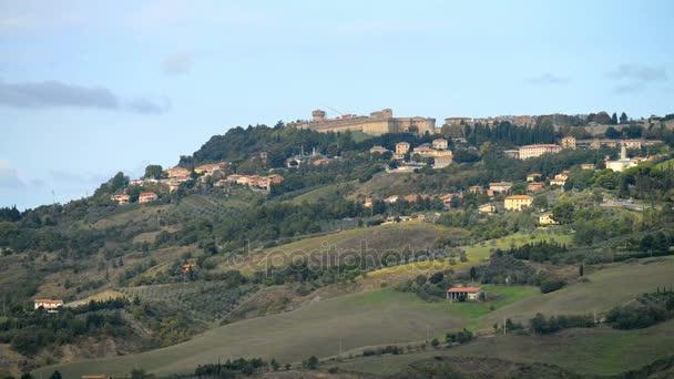 Volterra city in Italy