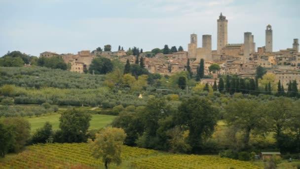 San Gimignano középkori városa, Olaszország