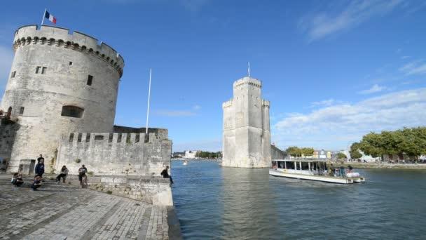 Věže starého pevnosti La Rochelle, Francie